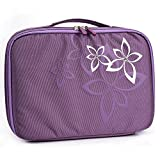 KroO Amazon Kindle Fire HD 8.9, HDX 8.9 (2014), Fire HD 10 Cases | Purple Daisy Flower On-The-Go Nylon Sleeve