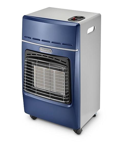 DeLonghi IR3010.BL Estufa de gas infrarroja, Color Azul