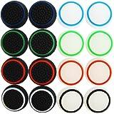 Pandaren® pouce thumb grip 16 unités Ensembles noctulescents pour PS2, PS3, PS4, Xbox 360, Xbox One, Wii U, Switch PRO manette