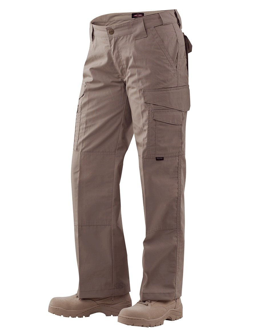 Tru-Spec Women's 24/7 Ladies Tactical Pants, Coyote, 4 x Unhemmed by Tru-Spec