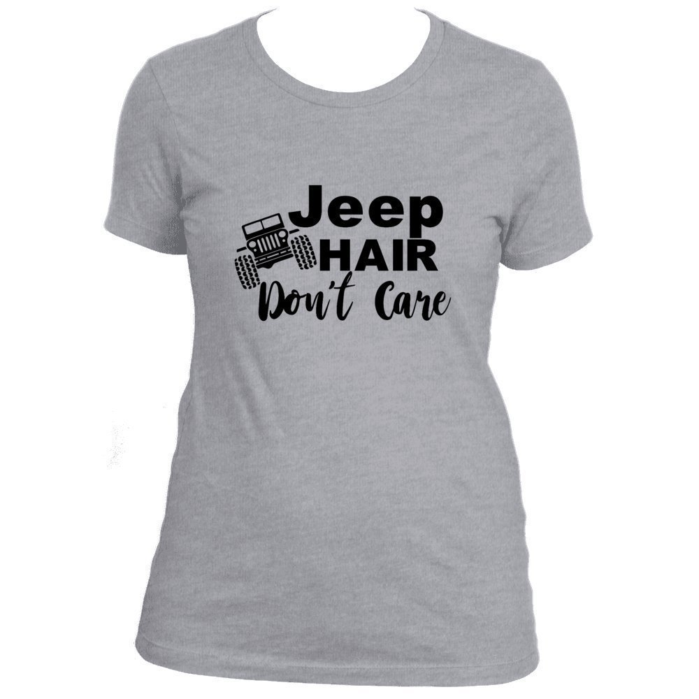 Jeep Hair Don't Care T-Shirt Jeep Girl