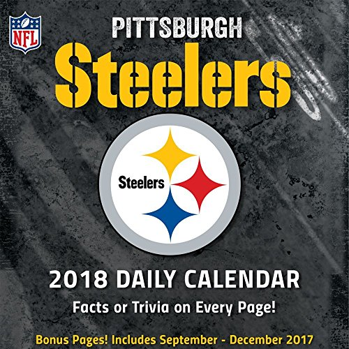 2018 Pittsburgh Steelers Desk Calendar