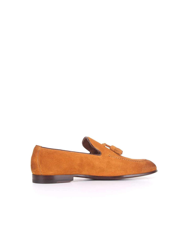 - DOUCAL& 039;S Herren DU1080CAPRUF068Orange Orange Leder Mokassins