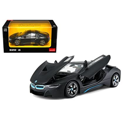 Amazon Com Bmw I8 Matt Black 1 24 Diecast Model Car By Rastar