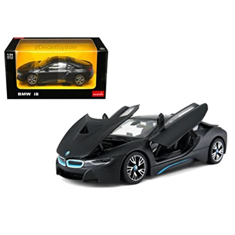 Amazon Com Rastar 1 24 W B Bmw I8 Black Color 56500bk Toys Games
