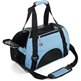 MisteSun Cat Carrier,Soft-Sided Pet Travel Carrier for Cats,Dogs Puppy Comfort Portable Foldable Pet Bag Airline…