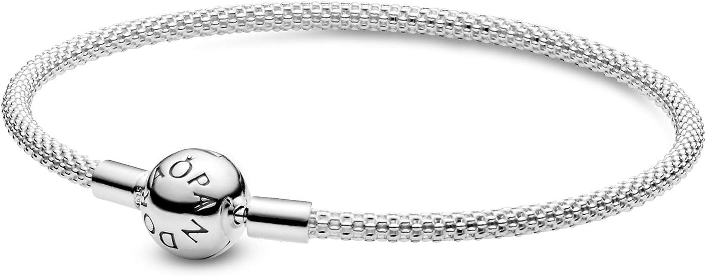 Pandora 596543 - Pulsera de malla para mujer