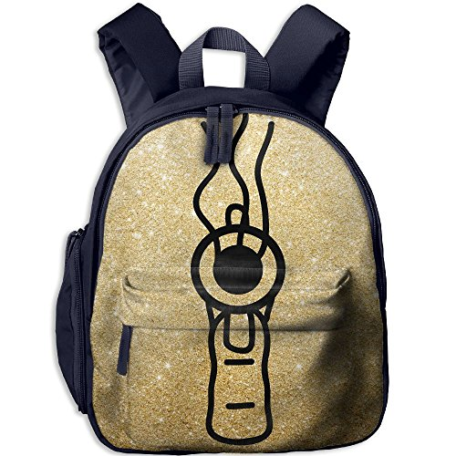 Small School Daypack Printed With Pistole For Kindergarten Unisex Child - Target At Moana