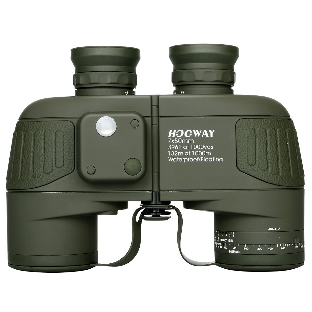 Hooway 7 X 50 Waterproof Floating Marine Binocular
