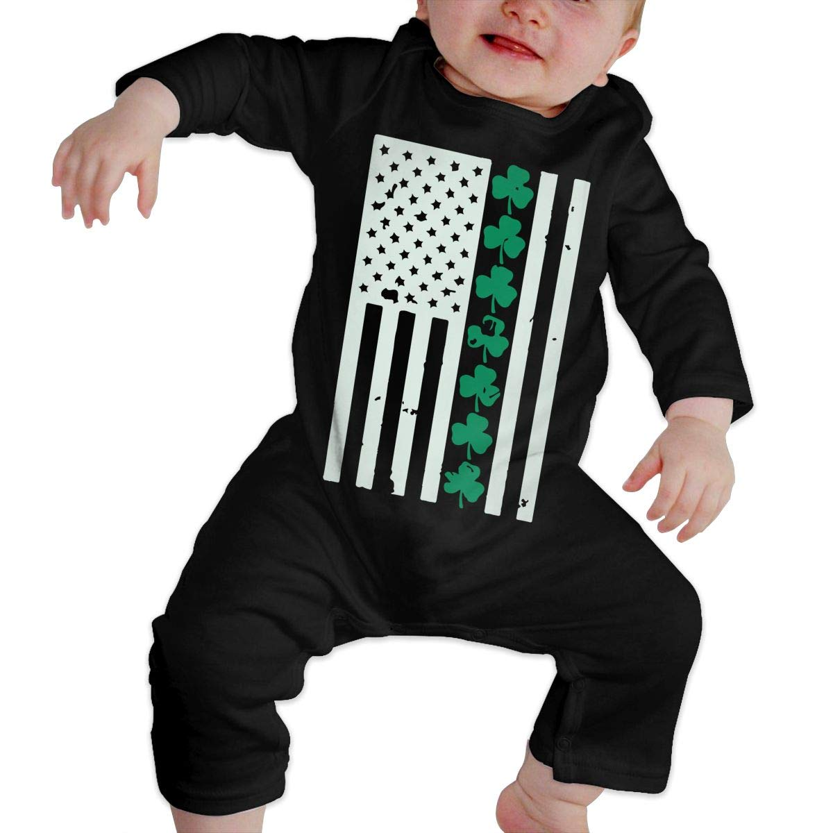 Mri-le1 Toddler Baby Boy Girl Bodysuits St.Patrick S Day Baby Clothes