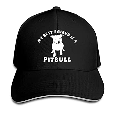 dfjdfjjgfhd Mens Womens My Best Friend is Pitbull Gorra de ...