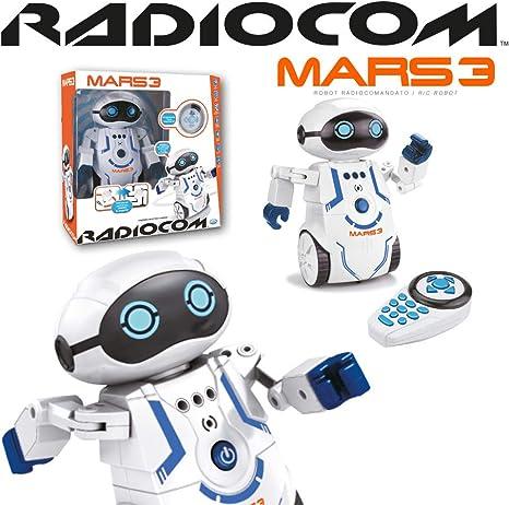 Amazon.es: ODS- Radiocom 40952 - Robot Mars 3 teledirigido, Color ...