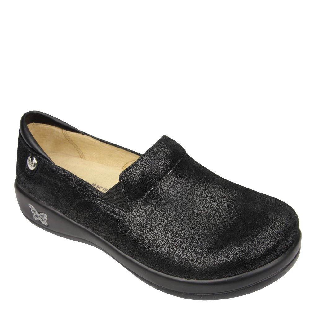 Alegria Women's Keli Professional Black Mosaic Clog/Mule 35 (US Women's 5-5.5) Regular