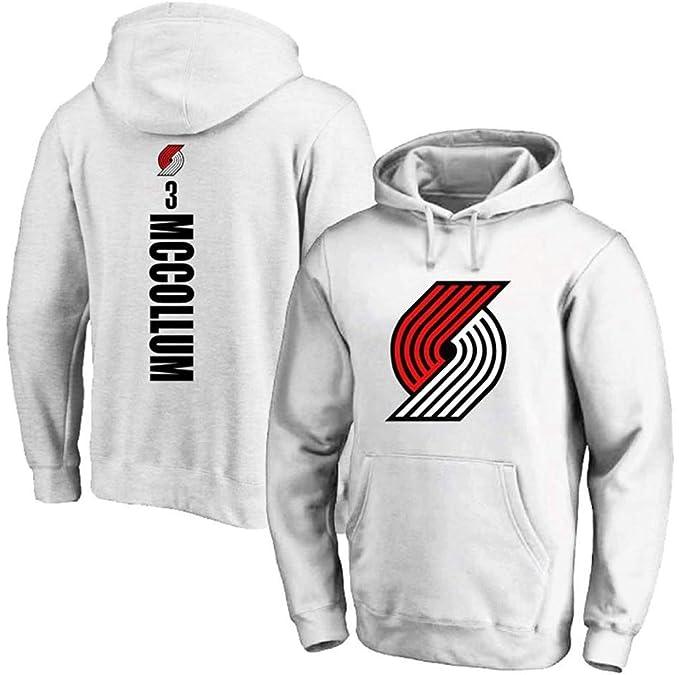 NBA Jersey Trailblazer 3# Mccollum Sudadera con Capucha, Sudadera ...