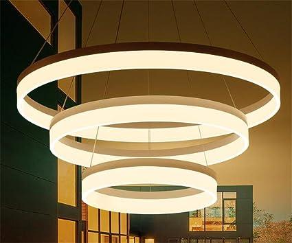 online retailer fbf54 d8d48 Amazon.com: LUCKY CLOVER-A Minimalist 3 Ring Chandelier ...
