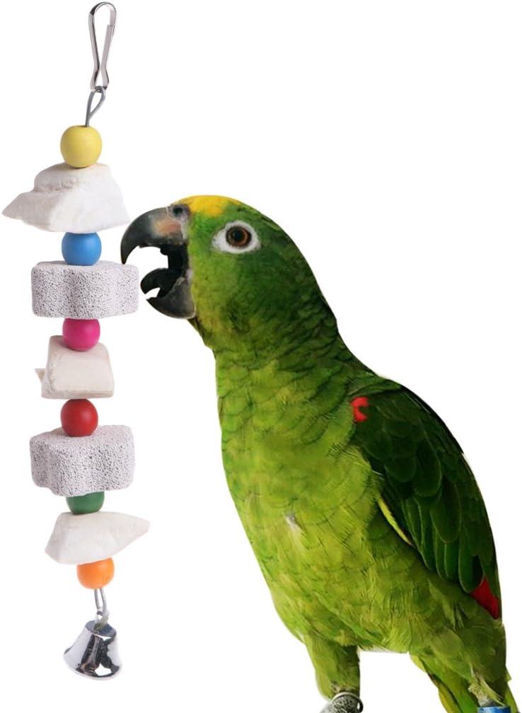 UNWSTYU Parrot Bird Chewing Toy Calcium Stone Cuttlefish Bone Bite Grinding Teeth Supply