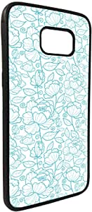 Flowers motifs Printed Case forGalaxy S7 Edge