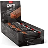 12 x Zero Bar 40 g - Basso contenuto di zuccheri Fudge Brownie