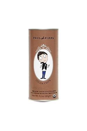 Paul And Pippa - Galletas Ecológicas De Cacao Y Escamas De Sal 125 g