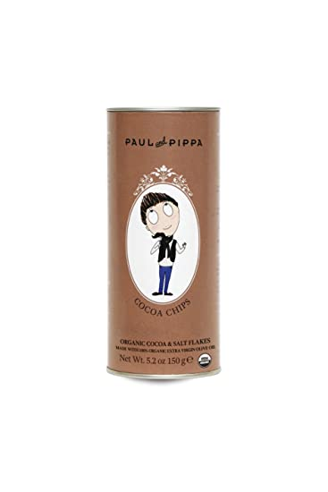 Amazon.com: Paul & Pippa Organic Cocoa and Salt Biscuits ...