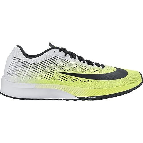 free shipping ef2db a7916 Nike Air Zoom Elite 9 Scarpa da Corsa da Uomo, Giallo FluoBianco