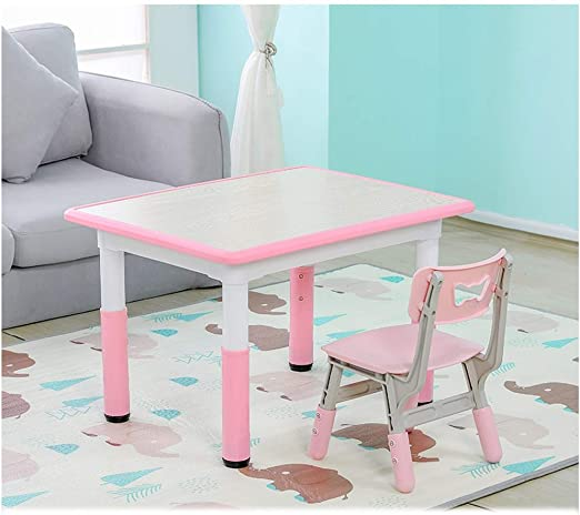 LRZS-Kids Furniture Mesa de niño Doodle, Pintura, Historieta ...