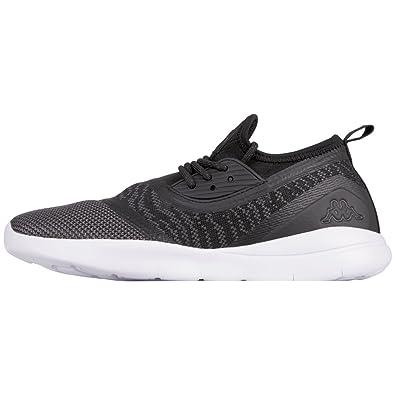 Tray II, Sneakers Basses Mixte Adulte, Noir (1116 Black/Grey), 36 EUKappa