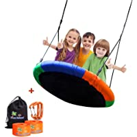 Blue Island Children's Tree Swing with Hanging Ropes