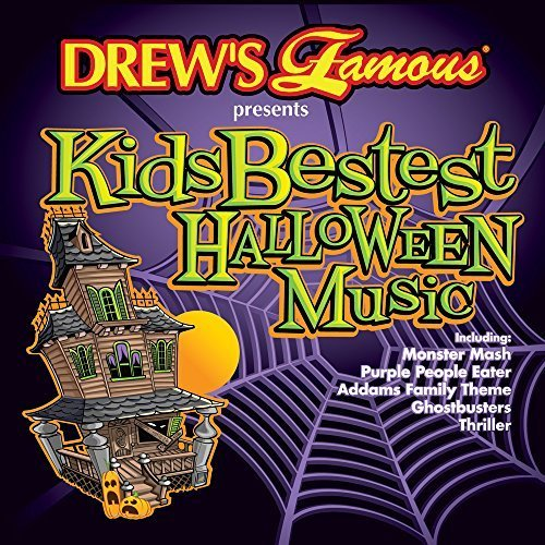 Drew's Famous Kids Bestest Halloween Music CD by Drew's Entertainment, Inc.]()
