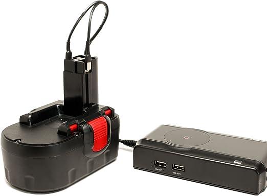 Amazon.com: Batería y Cargador para Bosch BAT026 – Batería ...