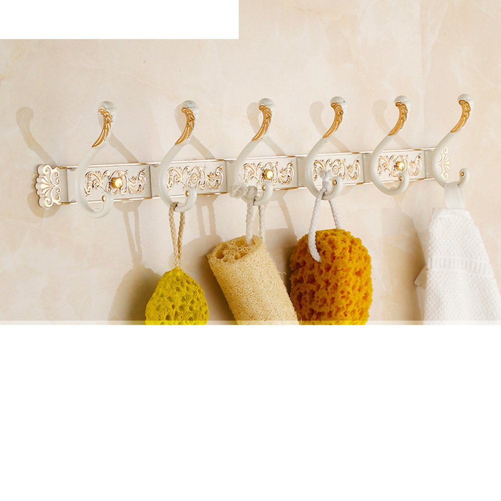 chic European-style hook/row hook/Bathroom Clothes hook/Wall hanger/After the door hooks/coat and hat hook -M