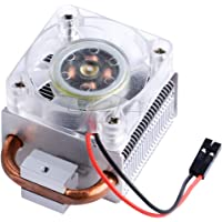 Iunius ICE Tower CPU Cooling Fan for Raspberry Pi (Support Pi 4 B) 5mm Copper Tube Super Heat Dissipation from 80℃ to 40…