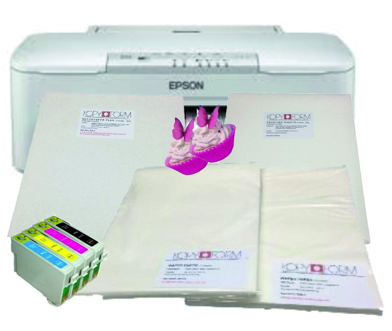 Epson WF-3010DW cartuchos de tinta comestible para impresora ...