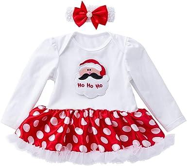 Disfraz Navidad Vestido para Bebe Niñas 3 Meses-18 Meses Invierno ...