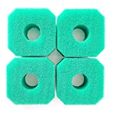 4 X Swimming Pool Sponge Filters Hot Tub Spa Foam Filters Spa Accessory Washable Reusable Replacement Sponge for V1 S1