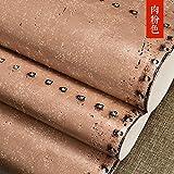 LIGYM Retro industry, nostalgia, rust, metal, iron, wallpaper, personality, fashion, lattice cafe, bar, background wallpaper,B