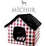Michur Paula Rot, Hundehaus Hundehöhle Katzenhaus Katzenhähle Hund Katze Rot