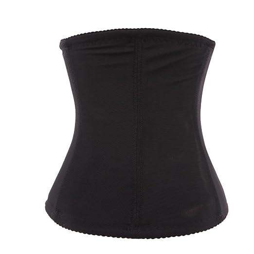9e2df80097 Amazon.com  Natuworld Womens Waist Trainer Corset Waist Belt Slimming Belt  Abdomen Compression Girdle Workout Waist Cincher Body Shaper Waist Trimmer  Body ...