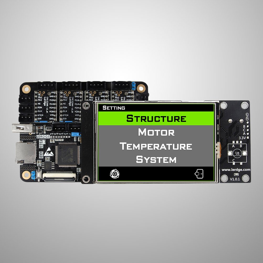 ukcoco tarjeta madre tarjeta controlador a 32 Bit ARM de lerdge-x ...