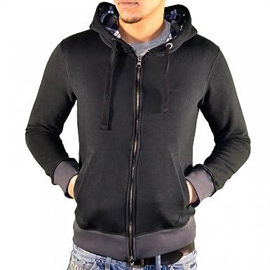 À Veste U6m13mi Noir Homme Capuche Armani Xs Jeans F64qpp