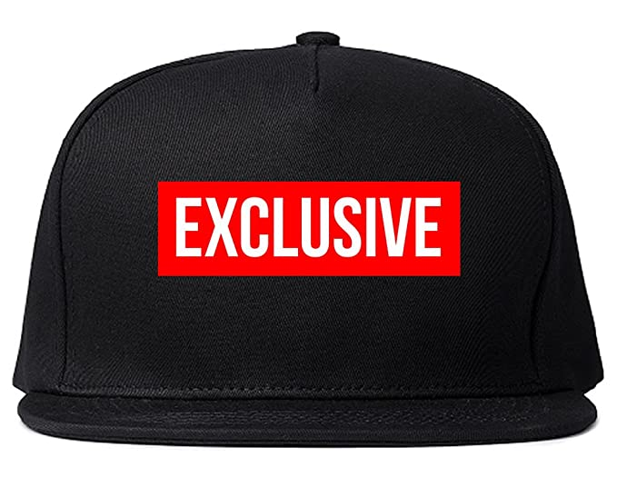 fac5d5c1591 Image Unavailable. Image not available for. Color  King Of NY Exclusive Snapback  Red Box New York Hat Logo Cap Black