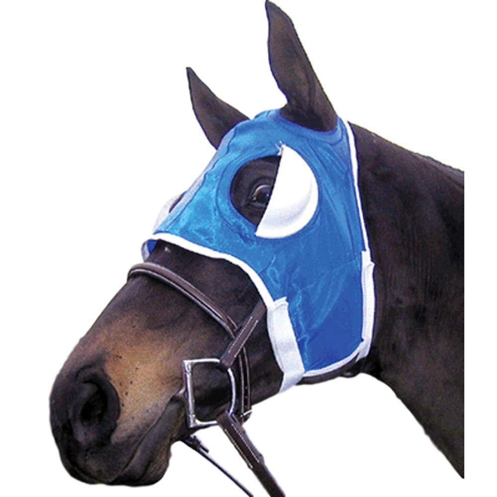 Intrepid International Half Cup Blinker Hoods, Blue by Intrepid International
