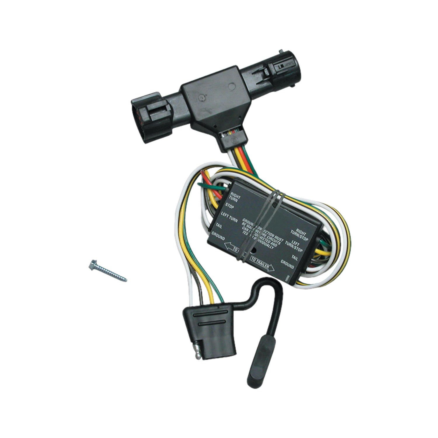 Tekonsha 118325 T One Connector Assembly With Converter Ac Wiring Harness 1995 B3000 Automotive