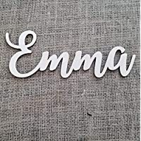 Wood Name Sign - Baby Name Sign - Nursery Name Sign - Above the Crib Sign - Personalized Baby Sign - Custom Nursery Sign - Nursery Letters