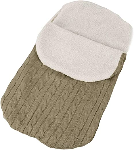 talla /única, Marina saco de dormir de felpa de punto t/érmico universal para bebe saco para silla de paseo sacos de abrigo para carritos mantas envolventes invierno para cochecito