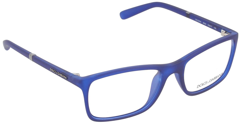 Dolce & Gabbana DG5004 Glasses in Black Rubber DG5004 2616 53