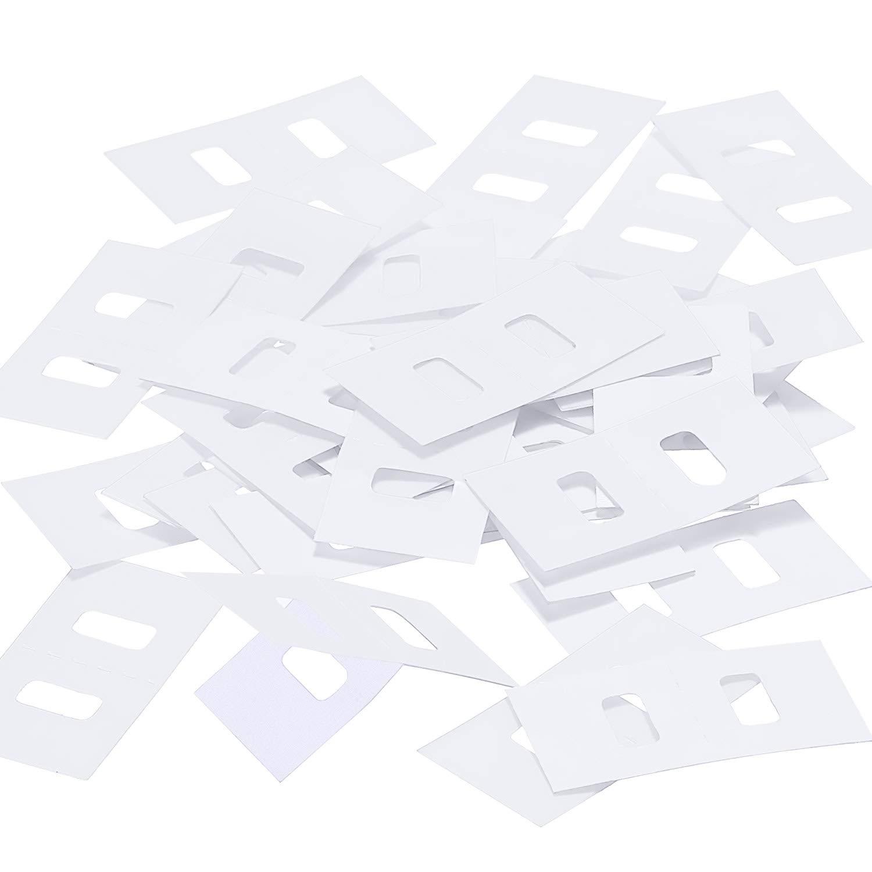 TOODOO Vertical Blind Repair Tabs Vertical Blind Vane Saver, Clear (30)