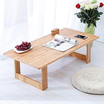 Mesa de Madera Escritorio de la computadora Cama Plegable Lazy Notebook portátil Pequeño Escritorio Portable Small Table Mesas para Ordenador: Amazon.es: ...