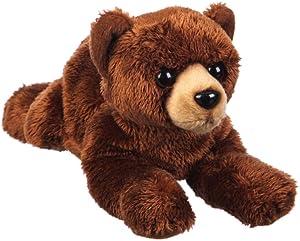 B. Boutique Black Bear Wildlife Adventures 8 inch Stuffed Plush