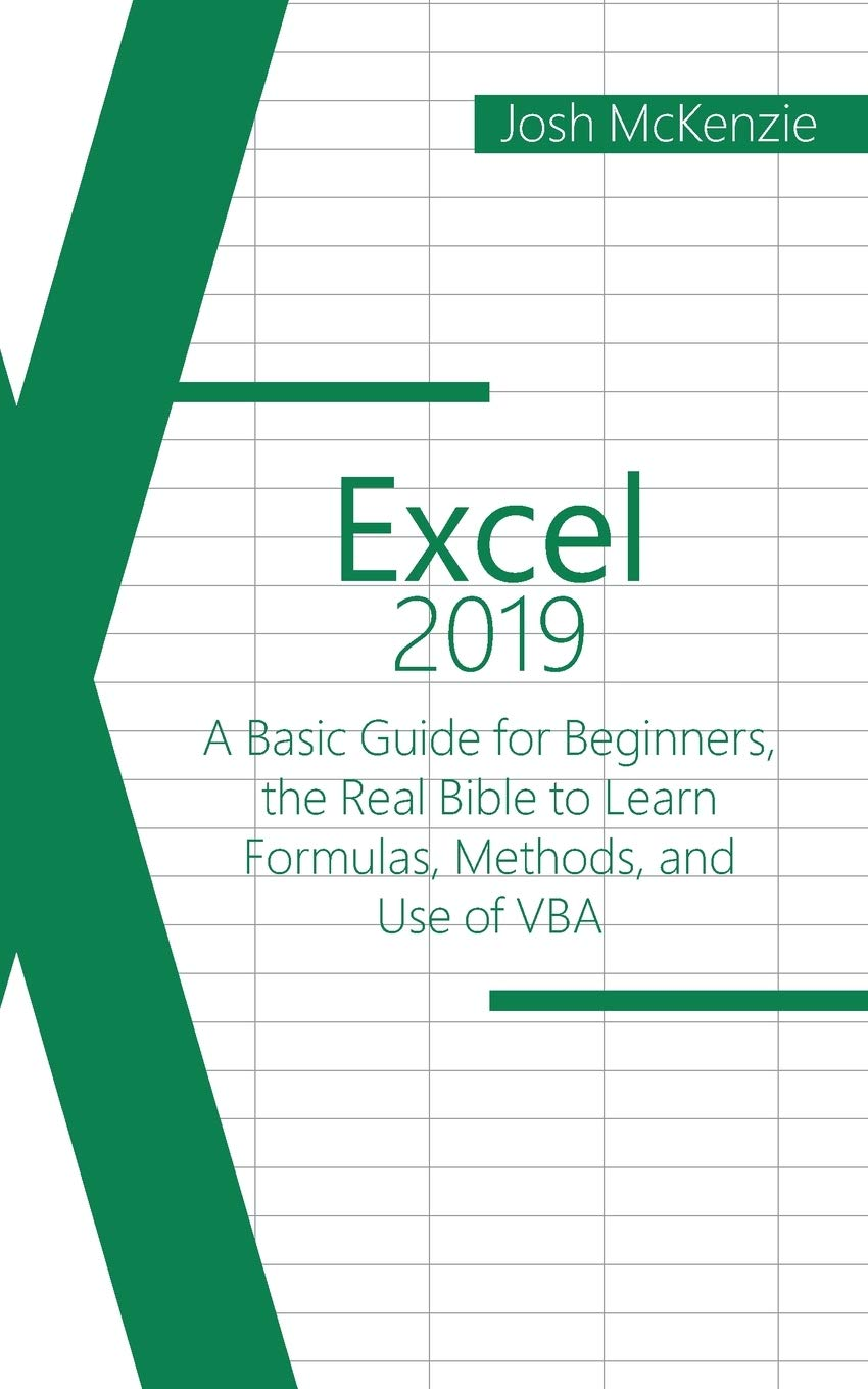 Excel 20 A Basic Guide for Beginners, the Real Bible to Learn ...